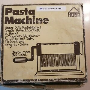 Ampia 110 Pasta Maker - Vintage - Looks like never being used- Perfect condition
