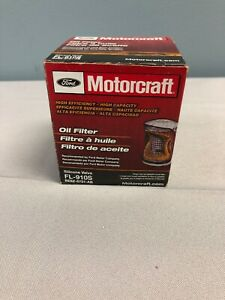 Motorcraft FL 910S High Efficiency Silicone Valve Engine Oil Filter