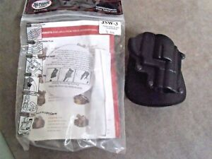 Fobus JSW3 paddle Holster for Smith&Wesson J2