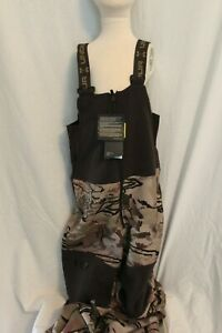 Under Armour UA Boys Stealth Bib Hunting Barren Camo Scent Control MSRP $100 NEW