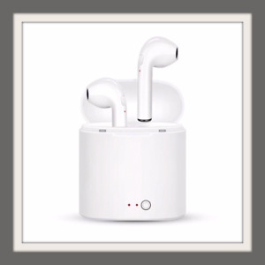 Airbuds Wireless Bluetooth fits EarPods APPLE Iphone 6 7 8 X Samsung Android 🎧