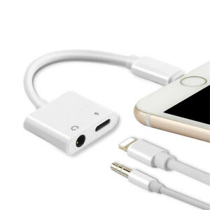 3.5mm Aux Audio Charge Adapter Cable Dongle Fit iPhone X Xs Xs MAX XR 7 8 Plus