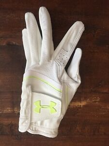UNDER ARMOUR CoolSwitch White Small Women's Left Hand Golf Glove