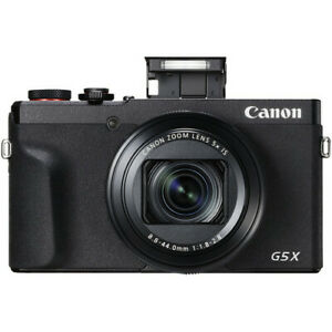 Canon PowerShot G5X G5 X Mark II Black (Multi) From US