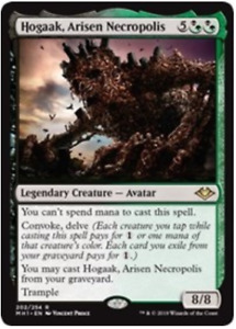Hogaak, Arisen Necropolis. Modern Horizons. Magic the Gathering