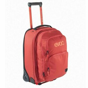EVOC Terminal bag 40L + 20L Travel bag with detachable backpack Chili Red