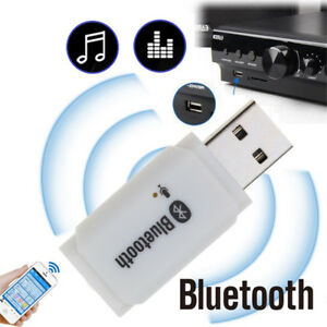 USB Wireless Bluetooth5.0 Stereo Audio Music Speaker AUX Receiver Adapter Dongle