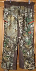 Under Armour Youth Size XL Storm Insulated CAMO hunting Pants 31