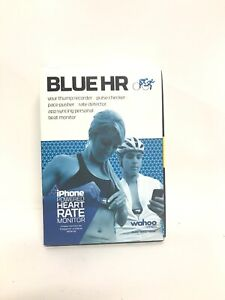 Wahoo Blue HR Heart Rate Monitor for iPhone Android Pulse Checker Pace Detector