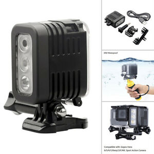 Underwater Diving Flash LED Lights Replacements For GoPro Hero Cameras 6 7 Newly