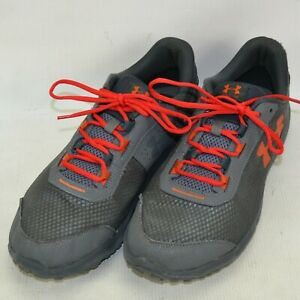 Under Armour UA Toccoa Running Shoes Mens Size 13 M Gray 1297449-100