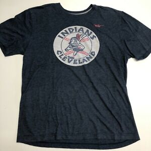 Nike Cleveland Indians Chief Wahoo T-Shirt Men's Size XL (fits like a large)