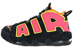Womens Nike Air More Uptempo 917593 002 BlackHot punch Multiple Sizes