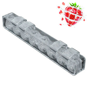 Baking Tool Non Stick Chocolate Mold Cake Candy Easy Clean 3D Strawberry Shape