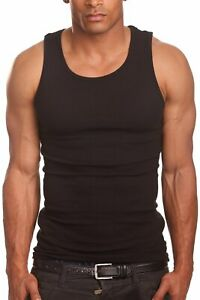 PRO 5 Men 100% Cotton Tank Top A Shirt Muscle Wife Beater Undershirt S 5XL 1PC $7.99