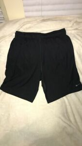 nike dri fit shorts xl black $16.00