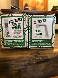 Redding Powder Measure 3BR and Bench Stand RS-6 NIB