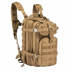 ARMYCAMOUSA Military Tactical Backpack Small 3 Day Army Molle Assault Rucksack