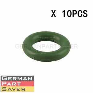 10Pcs Fuel Injector O Ring Seal Lower for Mercedes M272 M273 M275 0139979045 $12.98