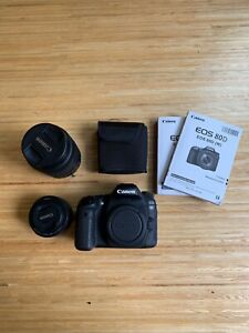 Canon EOS 80D 24.2 MP DSLR Camera With EF-S 18-135mm & EF 50mm F1.8 Lenses