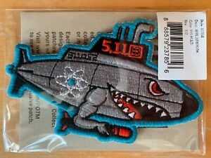 5.11 Tactical Patch Of The Month Navy Submarine 2018 511052