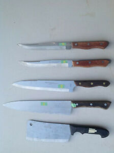 Set kitchen Knifes set 4+1 Clever in good conditionmade in Japan