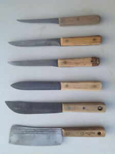 Set kitchen Knifes set 5 +1 Clever in good conditionmade in USA