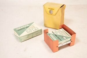 Vintage Speaker Co Heatab Cookit Pocket Stove Camping Armed Forces Survival RARE