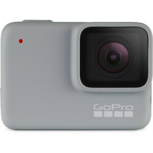 GoPro HERO7 Action Camera White Mint Condition with 64 GB Sandisk Memory Card