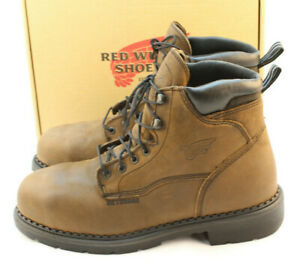 NWB RED WING Size 12 D Steel Toe Metatarsal 6