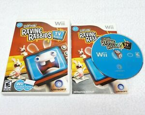 Rayman Raving Rabbids: TV Party (Nintendo Wii 2008) Complete Works Perfectly