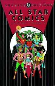 ALL STAR COMICS ARCHIVES HC VOL 02 SEALED