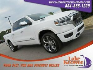 2020 Ram 1500 Limited 2020 Ram 1500 Limited 1 Bright White Clearcoat Crew Cab Pickup Regular Unleaded