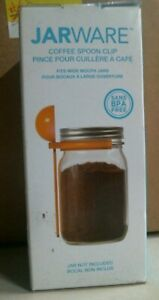 JarWare Coffee Spoon Clip, 1 Tablespoon, Sugar, Flour, Spices, FREE SHIPPING