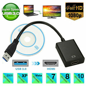 HD 1080P HDMI to USB 3.0 Video Adaptor Converter Cable for Windows 7810 PC TV