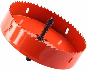 6 Inch 150mm Hole Saw Blade Corn Hole Boards Drilling Cutter Woodwork Tool