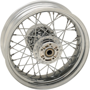 Drag Specialties 0204-0517 Replacement Laced Wheels Rear 16x5