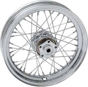 Drag Specialties 0203-0421 Replacement Laced Wheels Front 16 x 3