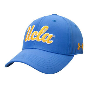 NEW Under Armour Structured Adjustable Hat - UCLA Bruins - BlueBright Yellow