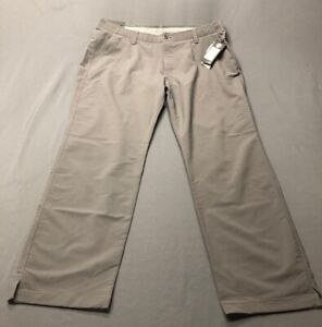 Under Armour Straight Golf Pants (42 x 32 Gray Polyester)(NWT) MSRP $80
