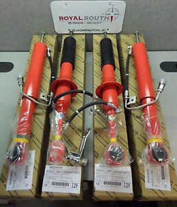 Toyota 4Runner 2010 - 2020 Limited 4WD Front & Rear Shocks Set Genuine OEM OE