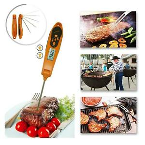 Digital Food Thermometer Instant Read Probe Kitchen Cooking BBQ Grill Food Meat