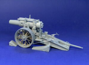 Resicast 1 35 8inch Heavy gun Mk.II Complete Resin kit w photoetch