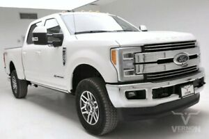 2019 Ford F-250  2019 Navigation Sunroof Leather Heated Bluetooth V8 Diesel Vernon Auto Group
