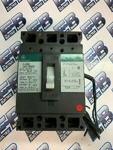 GE THED136150 150 AMP 600 VOLT 3 POLE Breaker W 120240 ST GREEN - WARRANTY