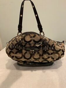 Coach Camouflage Signature Large Tote