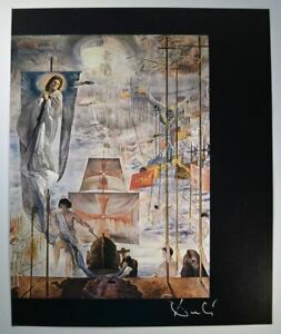 "Salvador Dali Signed Print ""The Discovery of America by Christopher Columbus"" $799.00"