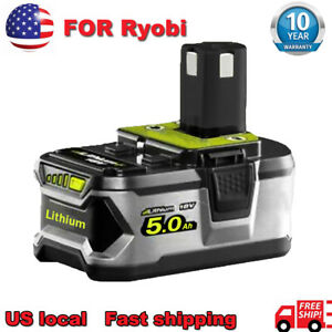 5.0Ah 18V For Ryobi P108 One Plus Lithium High Capacity Battery P104 P107 P102