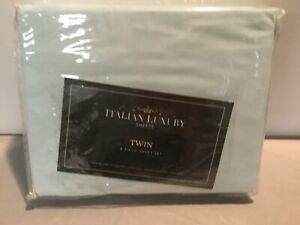 Italian Luxury Twin 3pc Microfiber Sheet Set