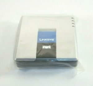 Several New Linksys Cisco PAP2T Phone Adapter 2 Ports Voice Over IP